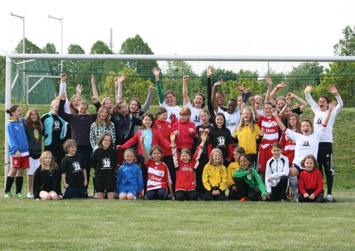 Mädchen-Fußball-Camp Ostern2011