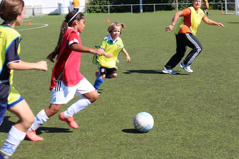 Power Mädchen-Fußball